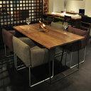 クロテツ SUMI ダイニングテーブル 140〜200 無垢 ウォールナット※サイズにより価格が変わります。※ご注文後 当店より正しい金額メールします。【送料無料】【国産家具】