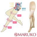 セフィル ノーマルタイプ【日本製】履くだけで脚すっきり むくみ防止 着圧パンスト レッグメイキング レディース 着圧ストッキング 28hPa MARUKO マルコ 下半身 ヒップ 太もも 脚 むくみ