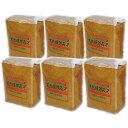 味噌 みそ 送料無料 国産大豆 天然醸造味噌 1kg袋6個 手作り 手前味噌