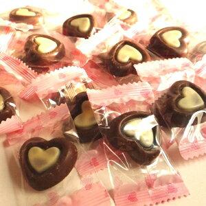 フラットハートチョコレート
