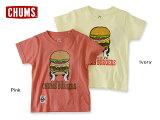 CHUMS Kids CHUMS Burgers T-Shirt ��CH21-1018�ڥ��å����ȥåץ���T����ġ�Ⱦµ�������ȥɥ����Ҥɤ⡡����ॹ �ۢ�4014295��5400�߰ʾ������̵���ۡ�05P23Apr16��