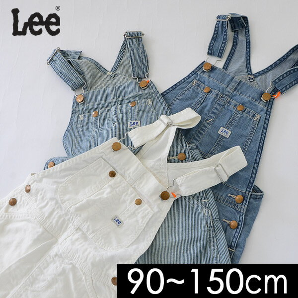 リーデニムジャンパースカート61562-MGキッズベビーボトムスボトムジャンスカ子ども子供服Lee4