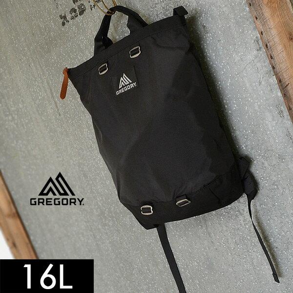 グレゴリー フラッシュデイ16L 89599-MG レディース メンズ リュック デイパック バッグ 鞄 ブラック トートバッグ GREGORY 7007999