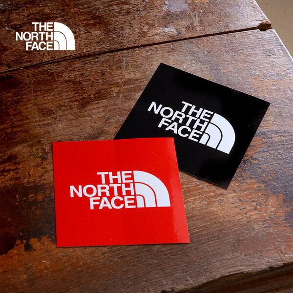 【メール便可】ザノースフェイス TNF ステッカー小 NN-9719-Fm キッズ レディース メンズ ロゴ アウトドア スクエア THE NORTH FACE 7008327