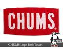 CHUMS Boat Logo Bath Towel / チャムスボートロゴバスタオル■CH62-0085【アウトドア  チャムス ロゴ タオル チャムス】■7...