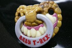 Baby ☆ BABY t-Rex, T-Rex pacifier ☆ ■ 71285 _