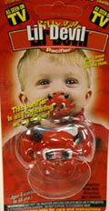 Devil pacifier ☆ ☆ Lil ' Devil ☆ ☆ ■ 71295 _