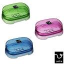 【★着後レビューで割引クーポン!】COLORFUL BATH TOOL バスツール ソープボックス(石鹸箱・透明) Untie Crystal アンティクリスタル【RCP】【unc-】【P B G】