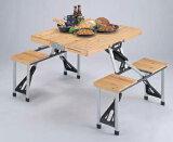 【】折りたたみ式 杉製ピクニックテーブル(ブラウン/ナチュラル)CAPTAIN STAGブランチ/シダー★レビュー割引キャンペーン!★【RCP】