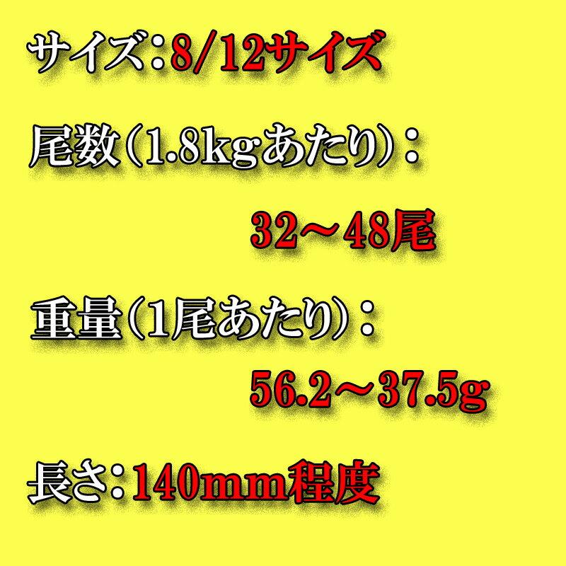 ブラックタイガーエビ 8/12サイズの紹介画像2