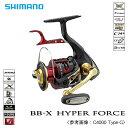 (5) シマノ BB-X ハイパーフォース C4000 Type-G  /レバーブレーキ付きリール/SHIMANO