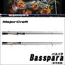 【取り寄せ商品】メジャークラフト バスパラ(BPC-662M)/ツーピースモデル/ベイトキャスティング/2ピース/BASSPARA/バスロッドMajor Craft