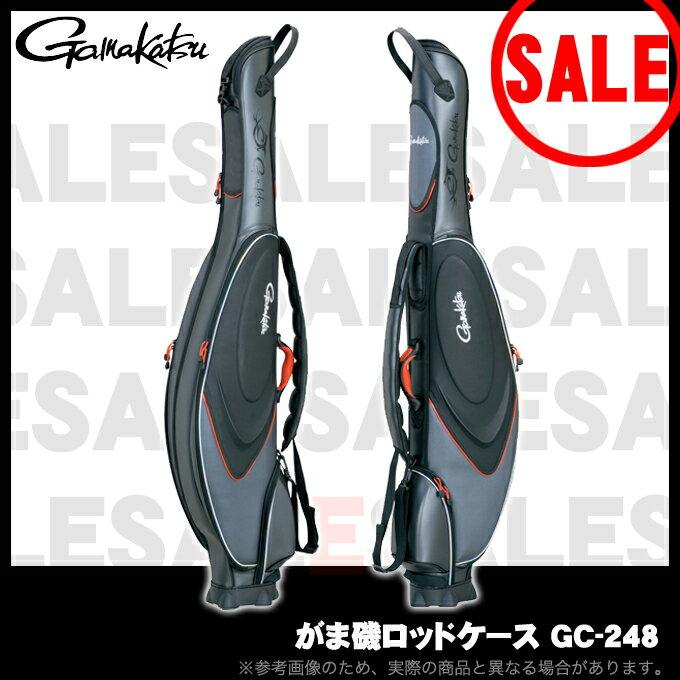 (3)【目玉商品】がまかつ(Gamakatsu) がま磯 ロッドケース (GC-248) /収容本数4・5本/磯釣り/大容量/