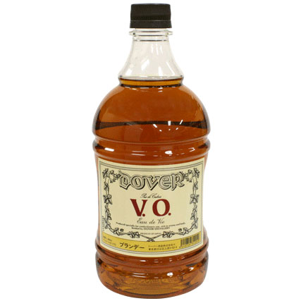 ブランデーV.O 1.8Lアルコール分37%の商品画像
