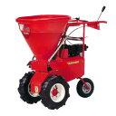 【KANRYU/カンリウ】狭い畝間に入っていける!ラクラク追肥!自走式肥料散布機『まきっこミニ MU400 ラグタイヤ仕様』[追肥仕様/ブロキャス/肥料散布器/追肥]