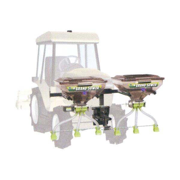 【タイショー/TAISHO】肥料散布機 グランドソワー UH-110F-GP[バンパー挟み込み方式/GPS車速連動コントロール]