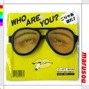 どっきりメガネPART−3・C【V34-73】PB041Cパーティーグッズ・めがね・眼鏡・変装・お笑い小道具★