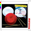 ★Red-and-white plate spinner [DP-PP011] jag ring, street performance, dish-spinning trick, plate spinner, entertainment, acrobatic feats, folk arts and crafts