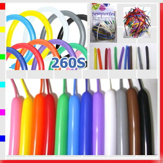 ★ Twisters 260 S ベーシックアソート party goods, balloon, balloons, balloon art and decoration