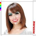 パーティークリアーマスク・女【丸惣MJF008】パーティーグッズ・仮装・変装・透明マスク・お面★