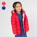 【子供服】 moujonjon (ムージョンジョン) 収納袋付きナイロンダウン無地ジャケット 80cm~140cm M62162