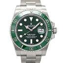 ロレックス ROLEX グリーン サブマリーナ デイト 116610LV ランダムシリアル メンズ腕時計 ギャランティカード付き