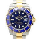 ロレックス ROLEX サブマリーナ デイト コンビ SS/K18YG ランダム ルーレット 116613LB メンズ腕時計 保証書