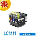ブラザー プリンターインク LC3111 4色セット bro...