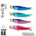 【鯉のぼり 単品 (一匹単位) 販売】夢はるか 単品鯉のぼり...