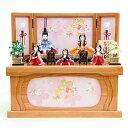 雛人形 久月 木目込み HNQ-68062雛人形 久月 ほのか 虹彩雛 木目込み収納飾り 五人揃 刺繍 ひな人形 雛 木目込人形飾り 02P03Dec16