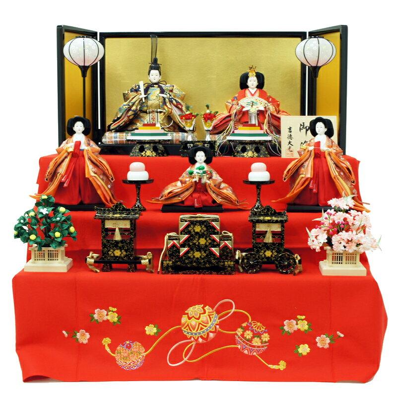 吉徳 三段飾り