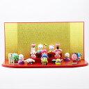 雛人形 吉徳 吉徳大光 コンパクト キャラ雛 ハローキティ 段飾り HNY-183-225おひなさま お雛様 ひな人形 かわいい おしゃれ インテリア 雛 ひな人形 小さい ミニ