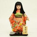 市松人形 翠仙 コンパクト 市松人形 翠仙作 市松人形 友禅 市松人形 ICSS-NO3Kひな人形 ひな人形 小さい