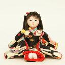 雛人形 翠仙 コンパクト 市松人形 翠仙作 市松人形 花あそび 雛人形 HNSS-T714ひな人形 ひな人形 小さい