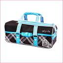 絵の具バッグ/チェック★小学生女の子向け画材バッグ【あす楽】人気のかわいいチェック柄の水彩ケース 積み重ねタイプ バッグのみ