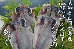 日間賀島漁師が造った【アジの干物】鯵(あじ)のひもの