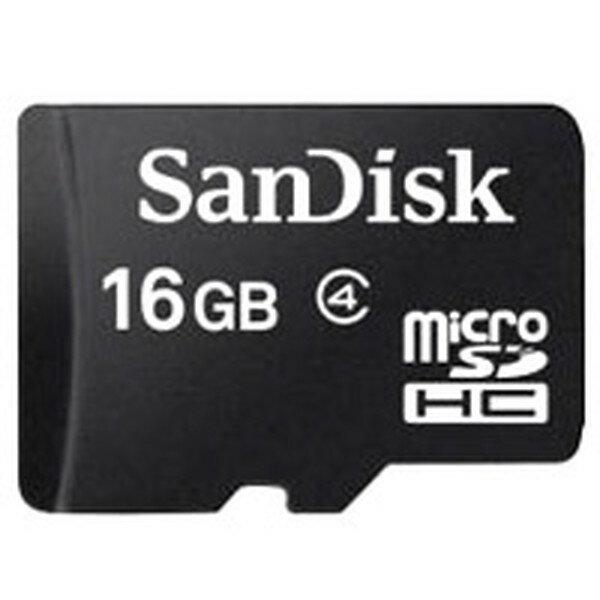 サンディスク MicroSDHCカード 16GB class4 UHS-1 【SDSDQAB-016G-BULK】