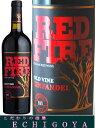 B.B.Qにはバーベキュー専用ワイン。夏にピッタリのBBQワインです。 レッドファイヤー2015 750ml