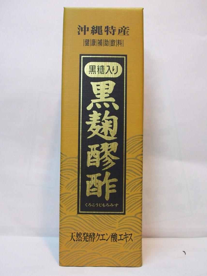 ヘリオス 黒麹醪酢 <黒糖入り>720ml.
