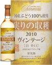 シャンモリ ヴィンテージ2010白ワイン辛口720ml 盛田甲州ワイナリー