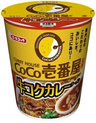 タテ型CoCo壱番屋監修牛コクカレーラーメン69g