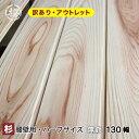 【訳あり】 杉 羽目板(壁腰)無節・上小 (11×130×960mm ハーフサイズ 12枚入り 1束●本実目透かし加工 天井・壁材・木材 板 日曜大工DIYに