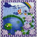四季彩布 紫陽花綿小風呂敷