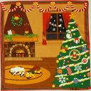 ショッピングクリスマスツリー 三毛猫みけの夢日記 小ふろしき〔みけのクリスマス〕12