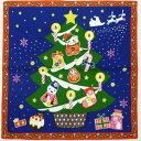 四季彩布 クリスマス招き猫小風呂敷