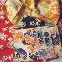 ショッピング一升餅 大判風呂敷〔98四季彩爛漫〕縮緬風エンボス加工【期間限定メール便無料】
