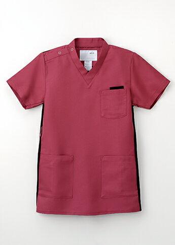 RT-5062 白衣 医療白衣 看護白衣 上衣 半袖 医療 男女兼用 医療 NAGAILEBEN ナガイレーベン RT5062
