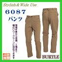 6087 パンツ バートル【作業服】BURTLE ワーキングウ