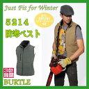 5214 防寒 ベスト バートル BURTLE 作業服 作業衣 ワーキングウエア カジュアル防寒