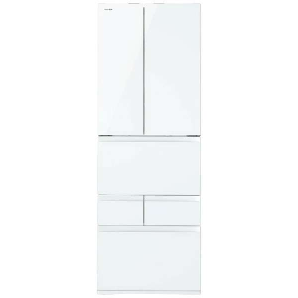 東芝 509L 6ドア冷蔵庫 GR-K510FW-ZW 基本設置無料